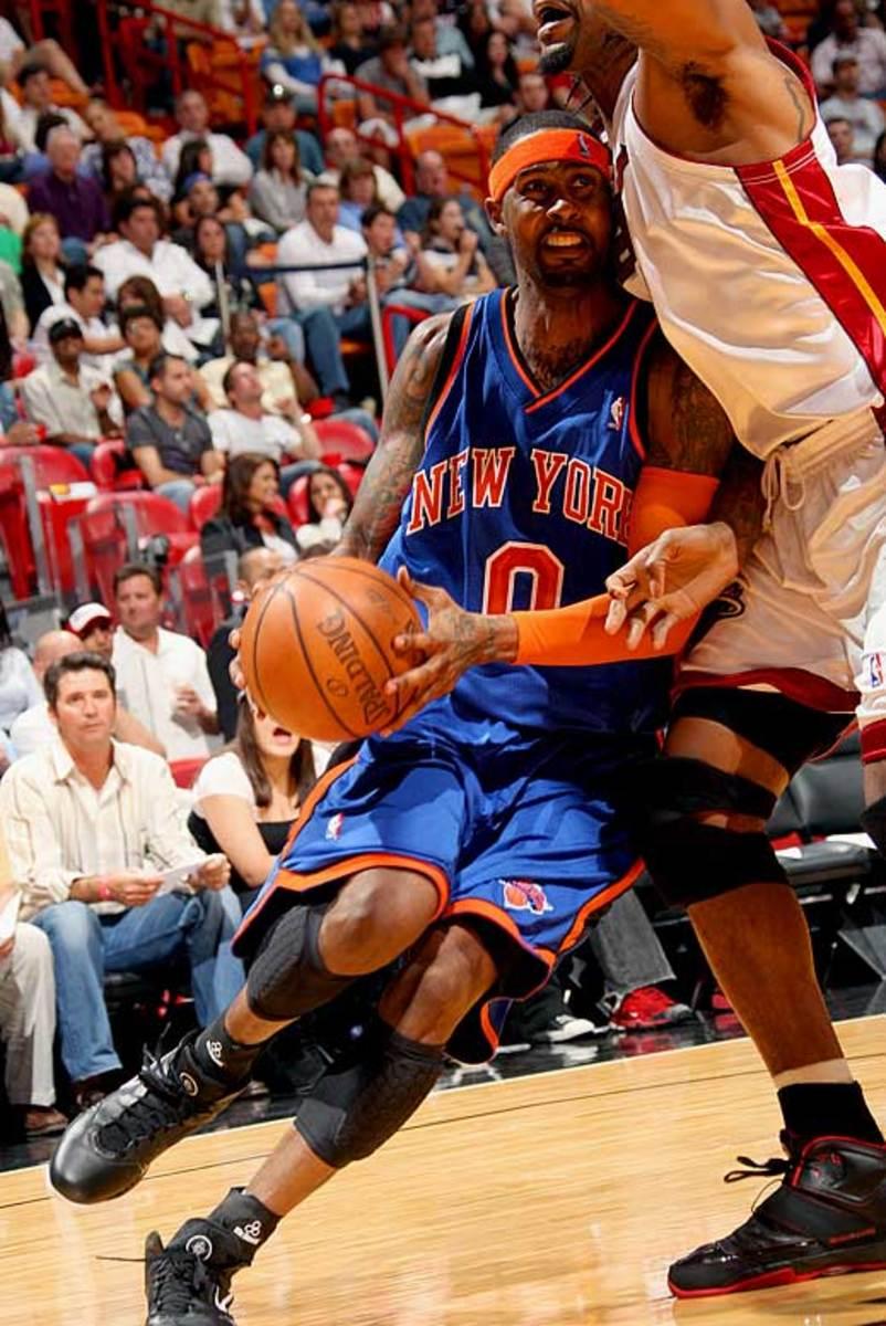 Larry Hughes, Knicks
