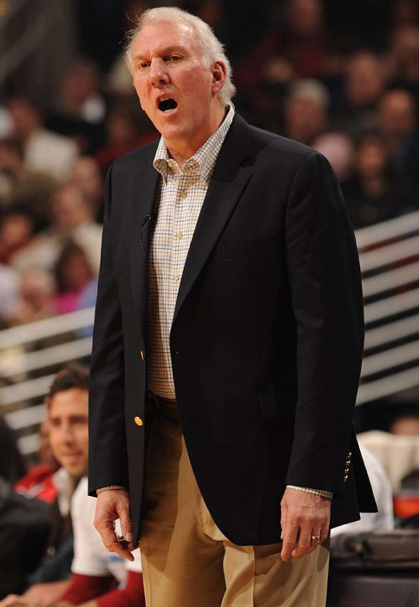 Greg Popovich, Spurs