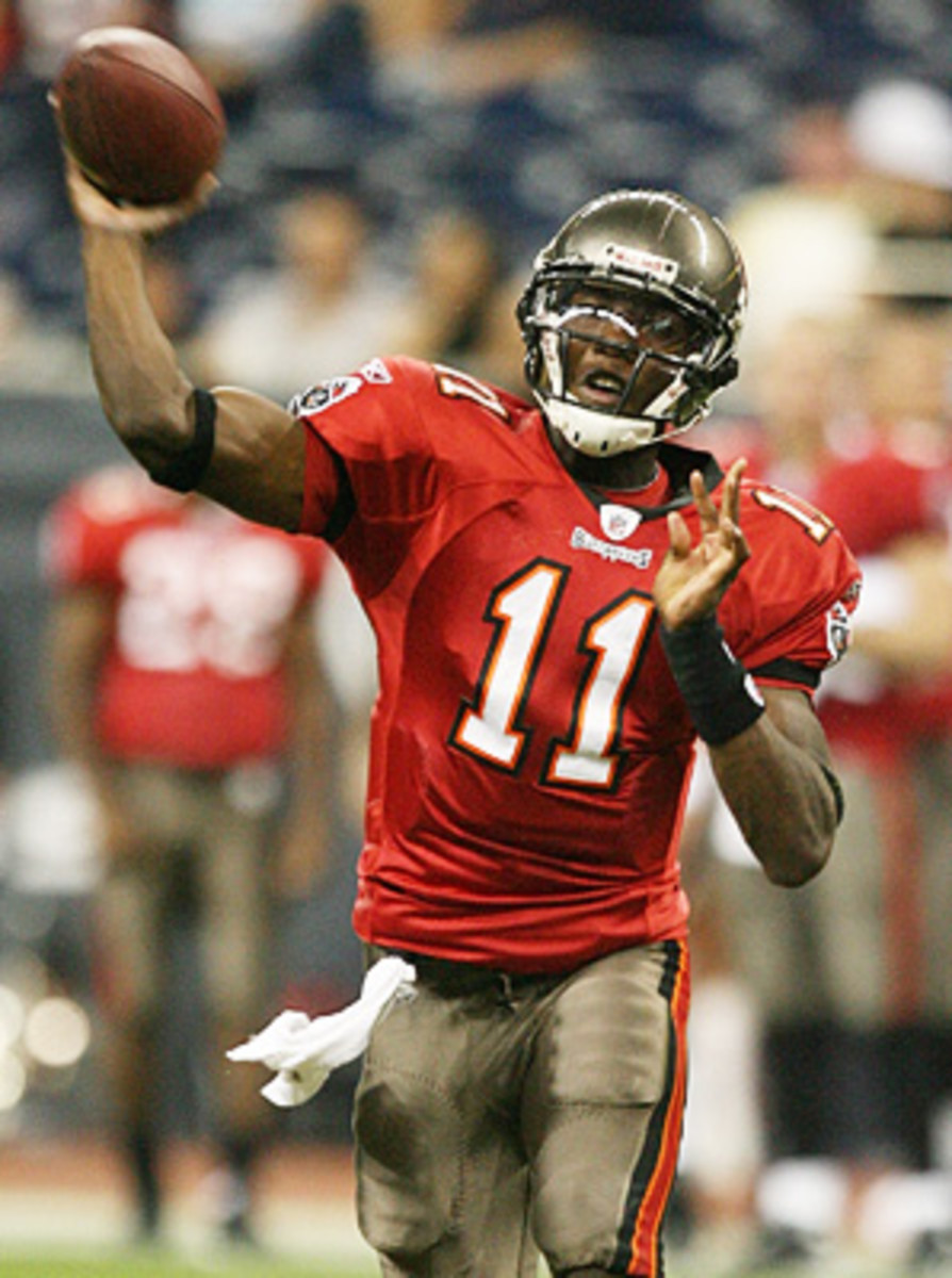 Josh Johnson was selected by Tampa Bay out of the University of San Diego in the fifth round of the 2008 NFL Draft.
