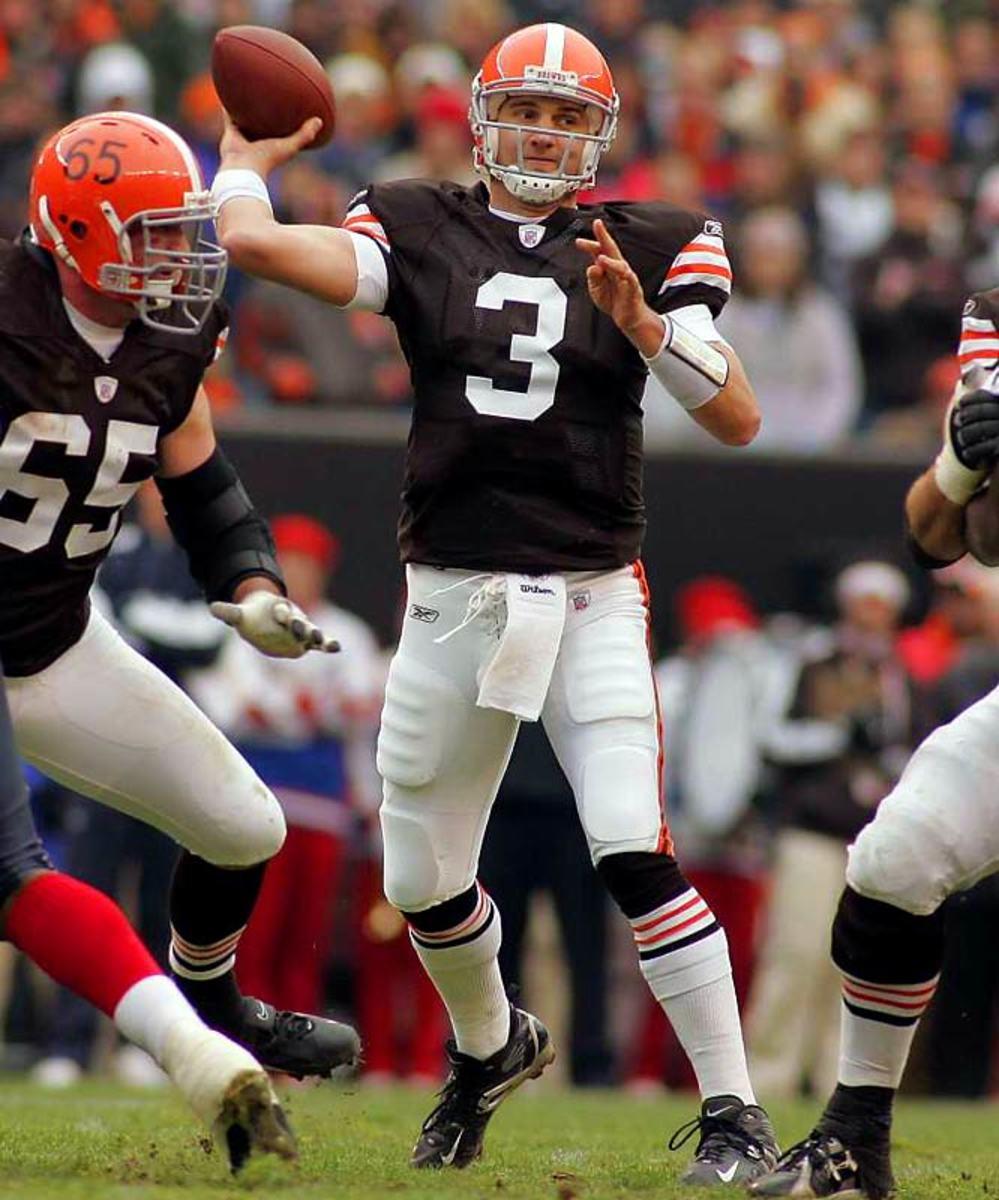 The Browns quarterback shuffle