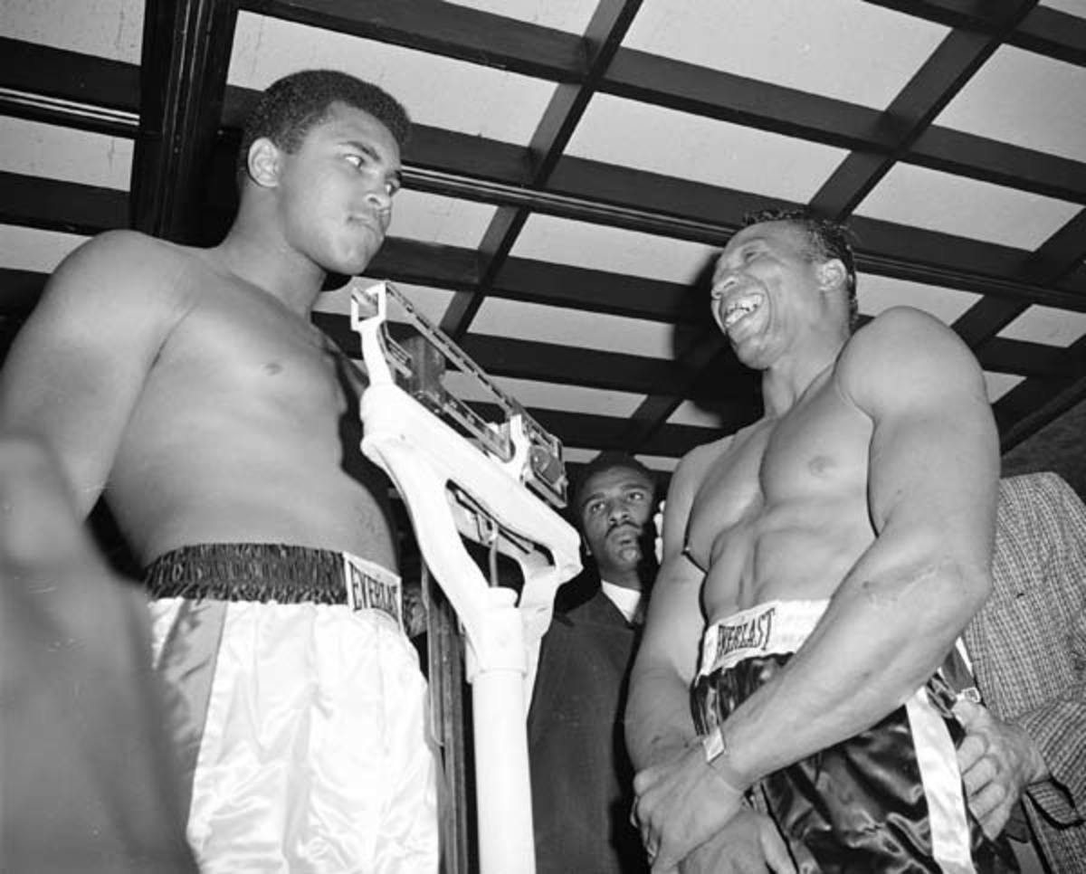 Muhammad Ali and Cleveland Williams