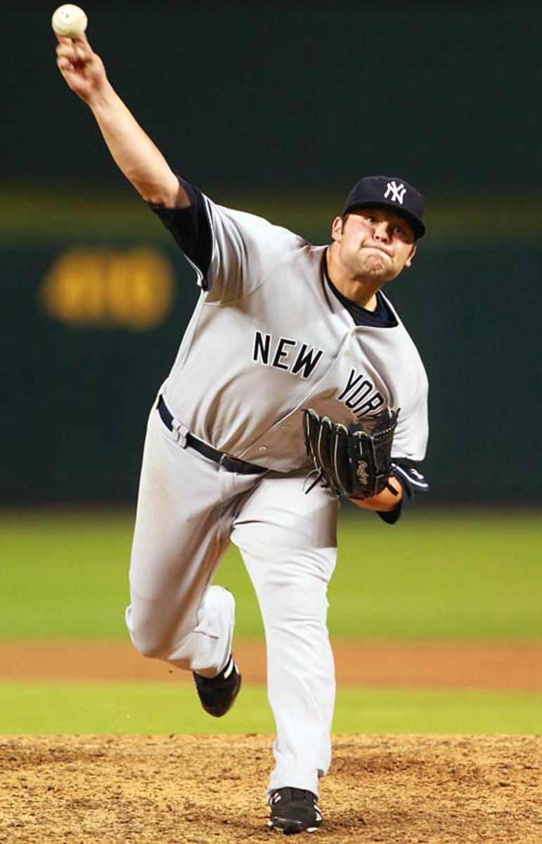 Joba Chamberlain joins the Yankees bullpen