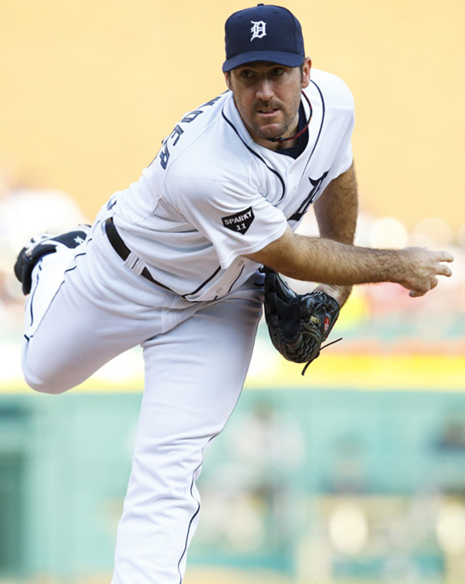Justin Verlander, Tigers
