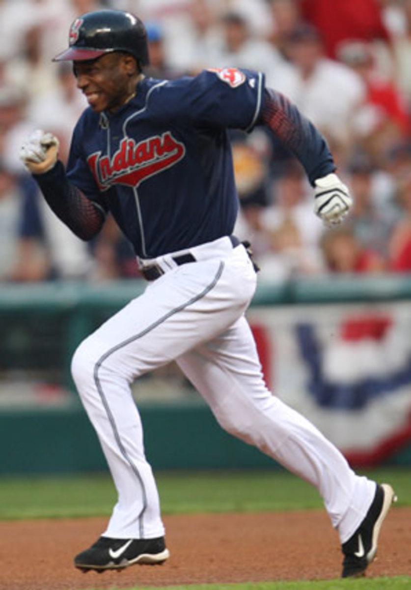 Kenny Lofton ranks 15th in baseball history with 622 career steals. (Heinz Kluetmeier/SI)