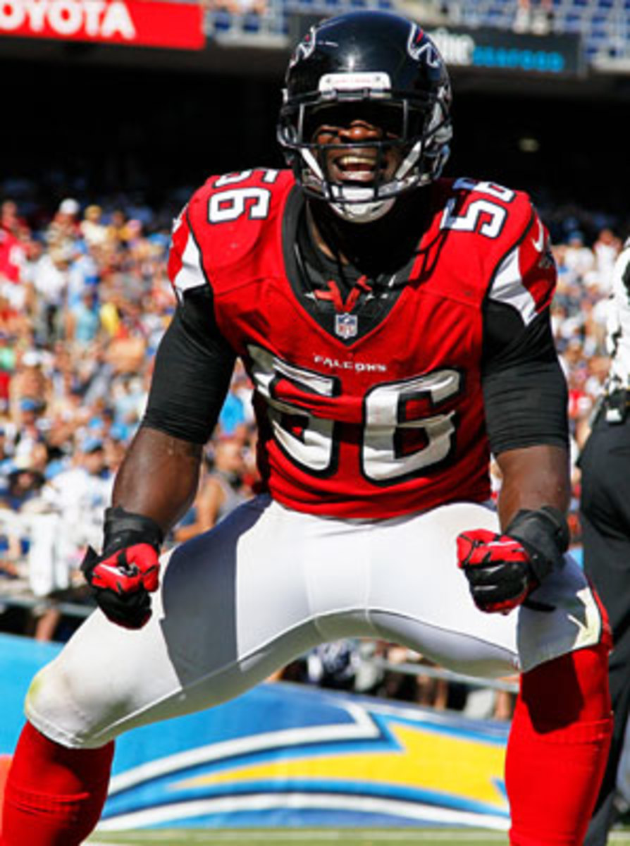 Falcons' Weatherspoon to miss game