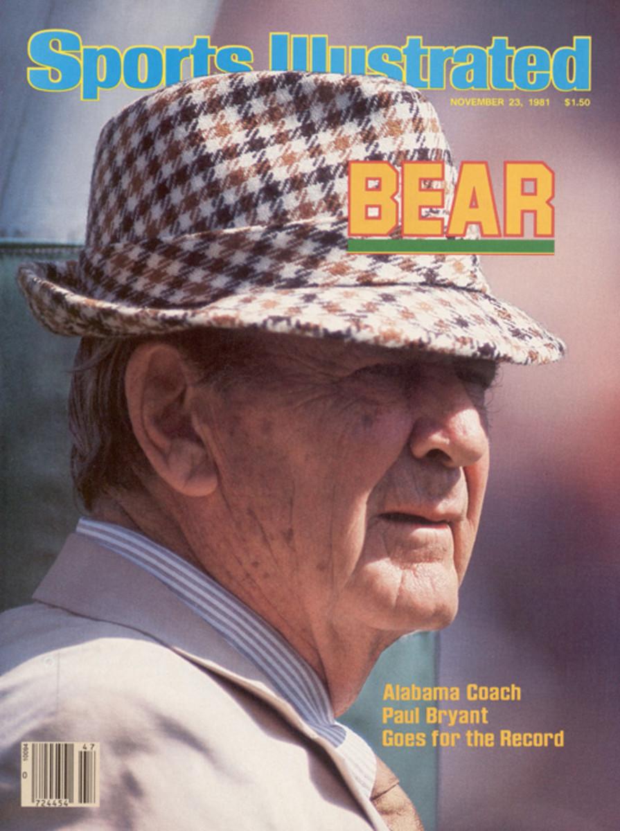 Bear Bryant, 68