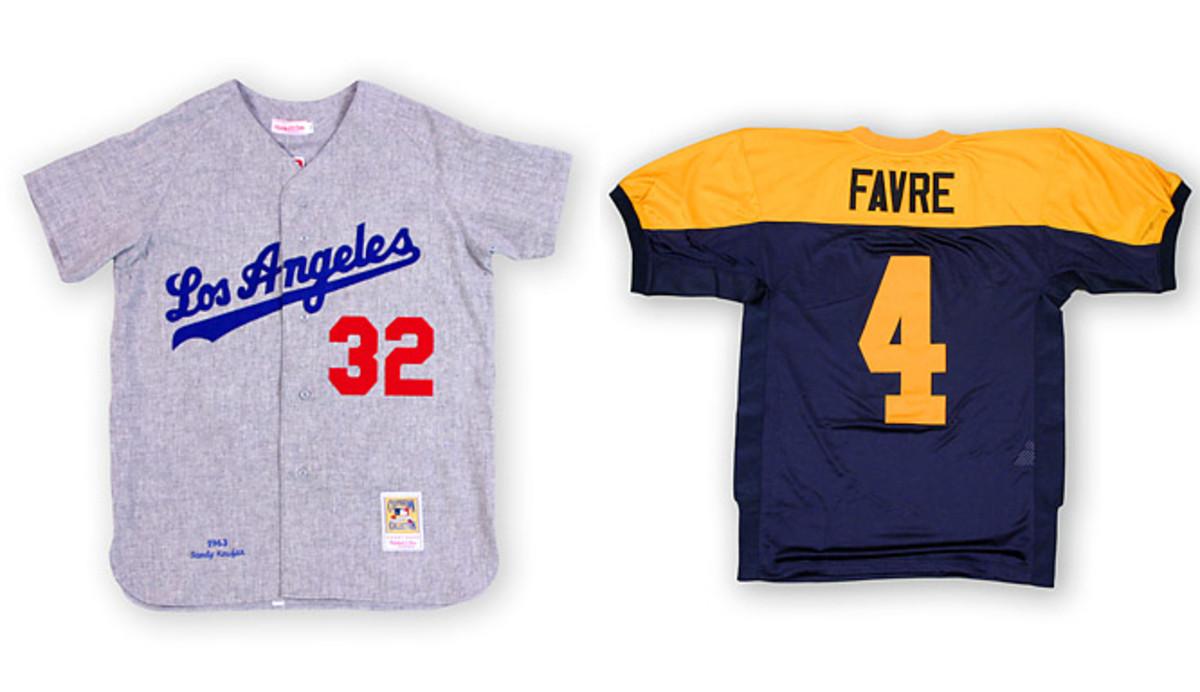 Mitchell and Ness jerseys