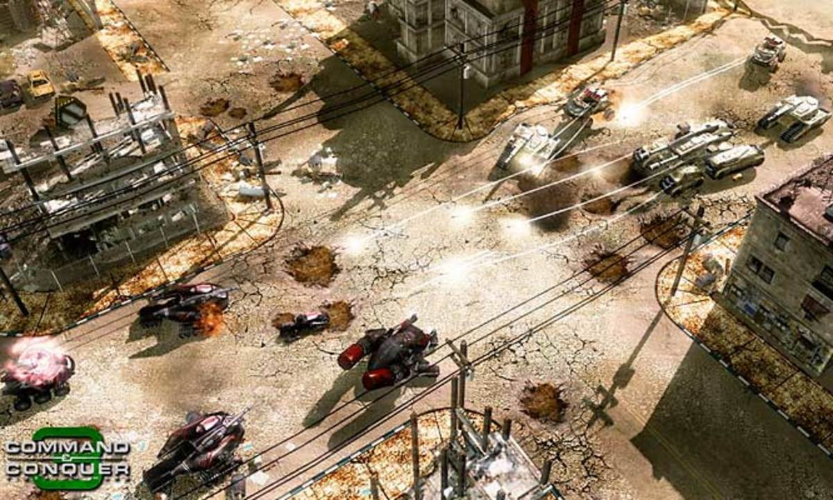 Command & Conquer 3 Tiberium Wars (XBOX 360, PC)