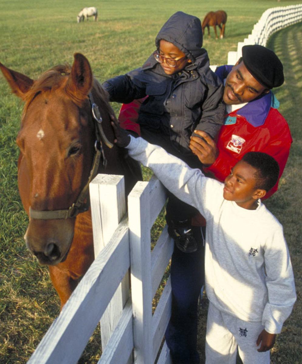 Evander, Ewin and Evander Jr. Holyfield