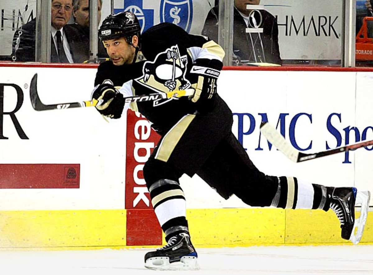 Bill Guerin, right wing, Pittsburgh Penguins