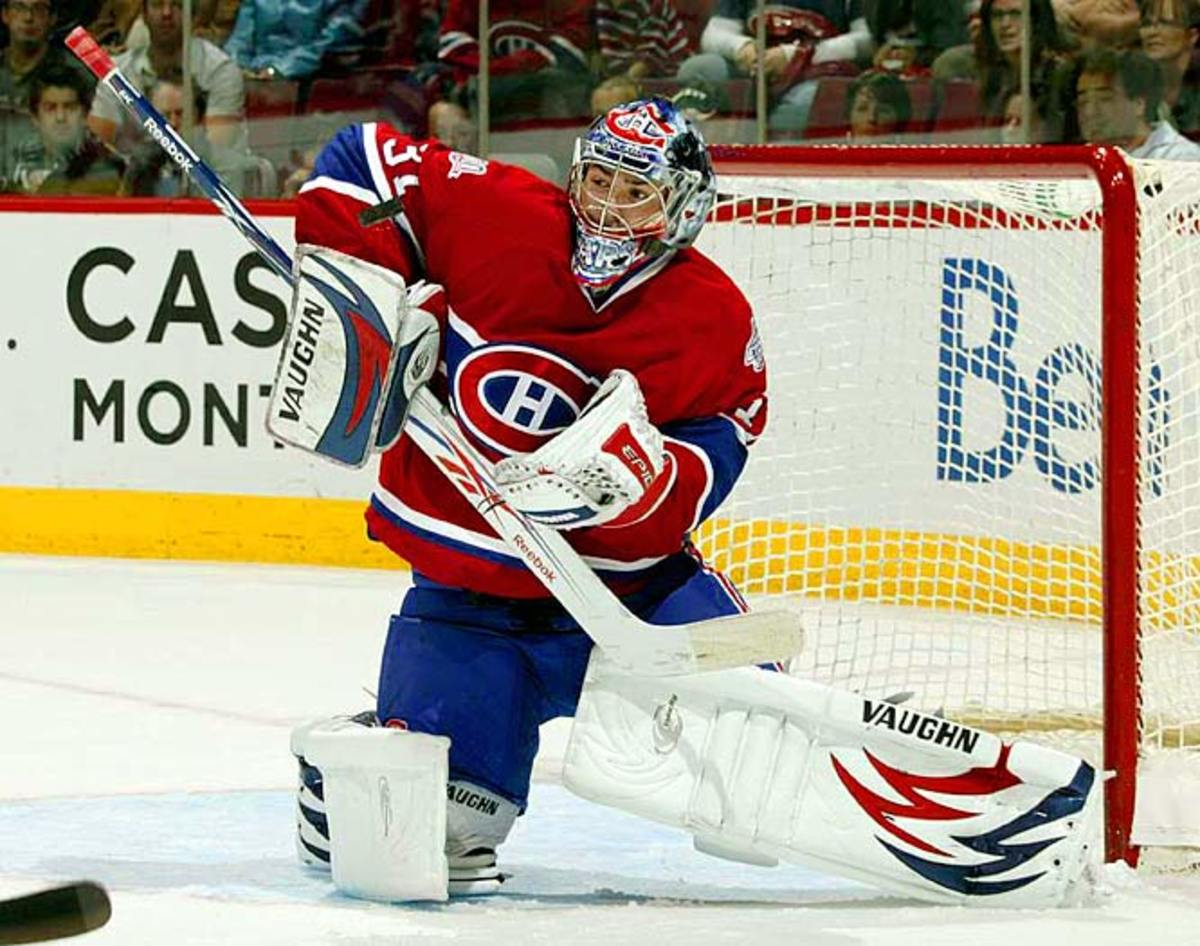Carey Price, goaltender, Montreal Canadiens
