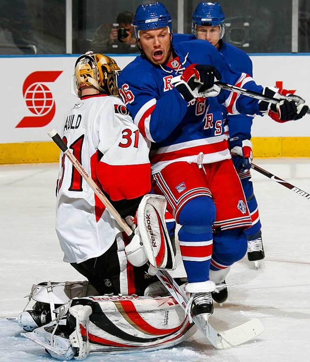 Sean Avery, left wing, New York Rangers