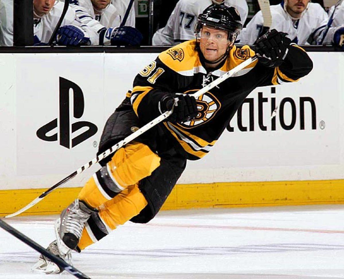 Phil Kessel, right wing, Boston Bruins