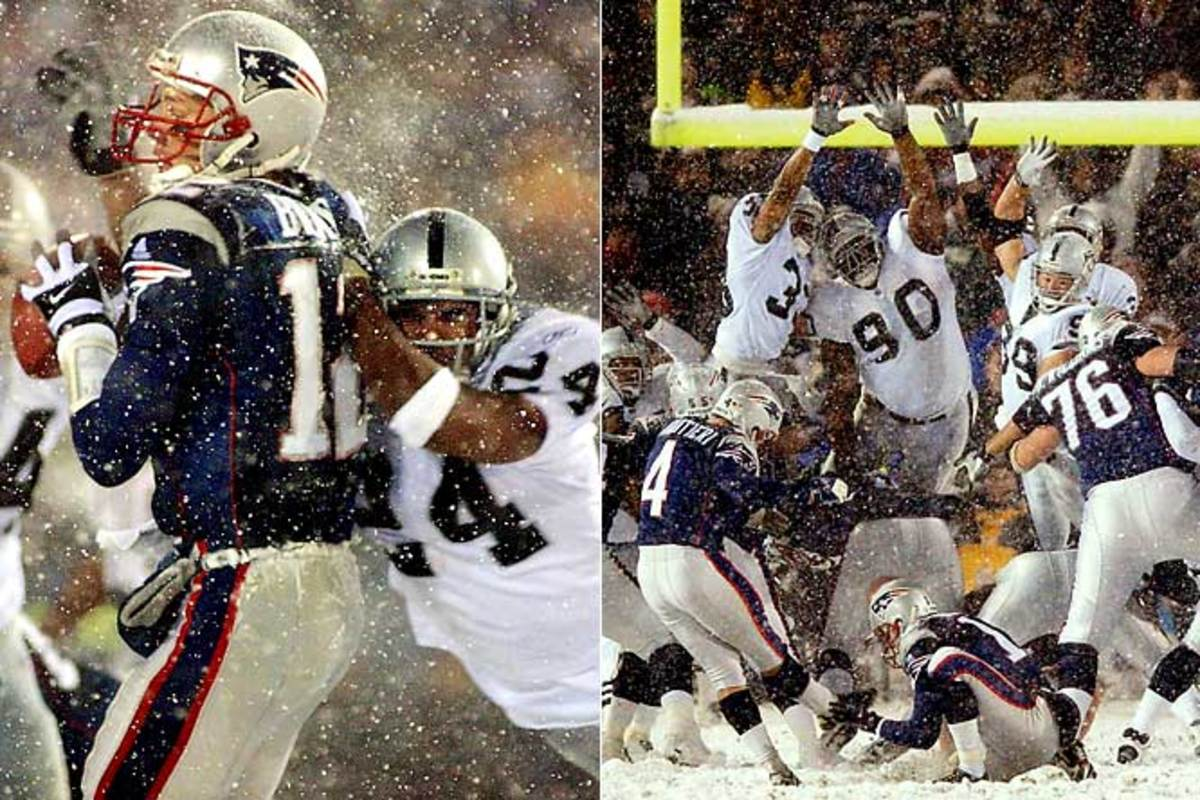 Patriots 16, Raiders 13 (OT)