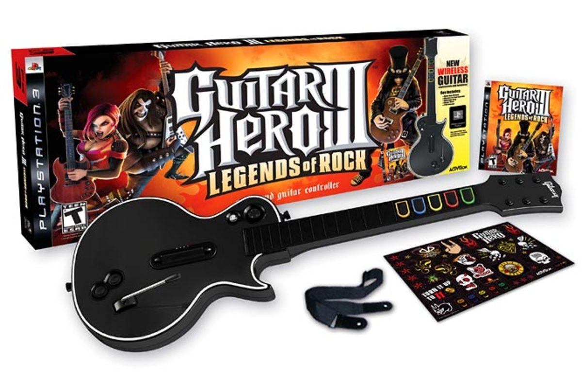 Guitar Hero III: Legends of Rock (Activision)