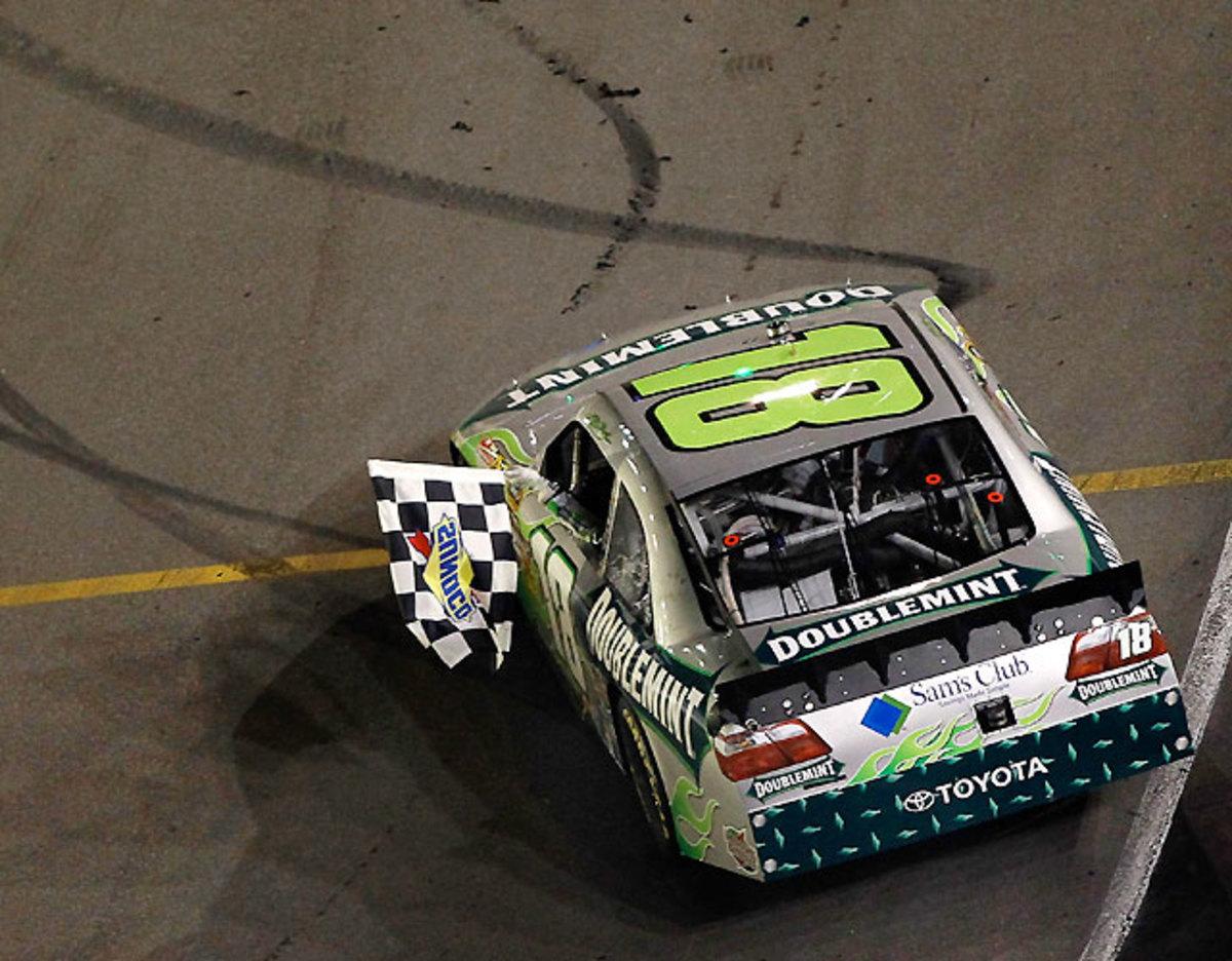 Irwin Tools Night Race at Bristol: Kyle Busch