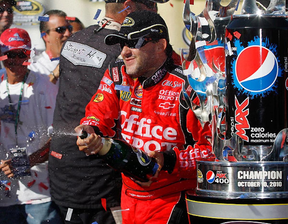 Pepsi Max 400 at Fontana: Tony Stewart