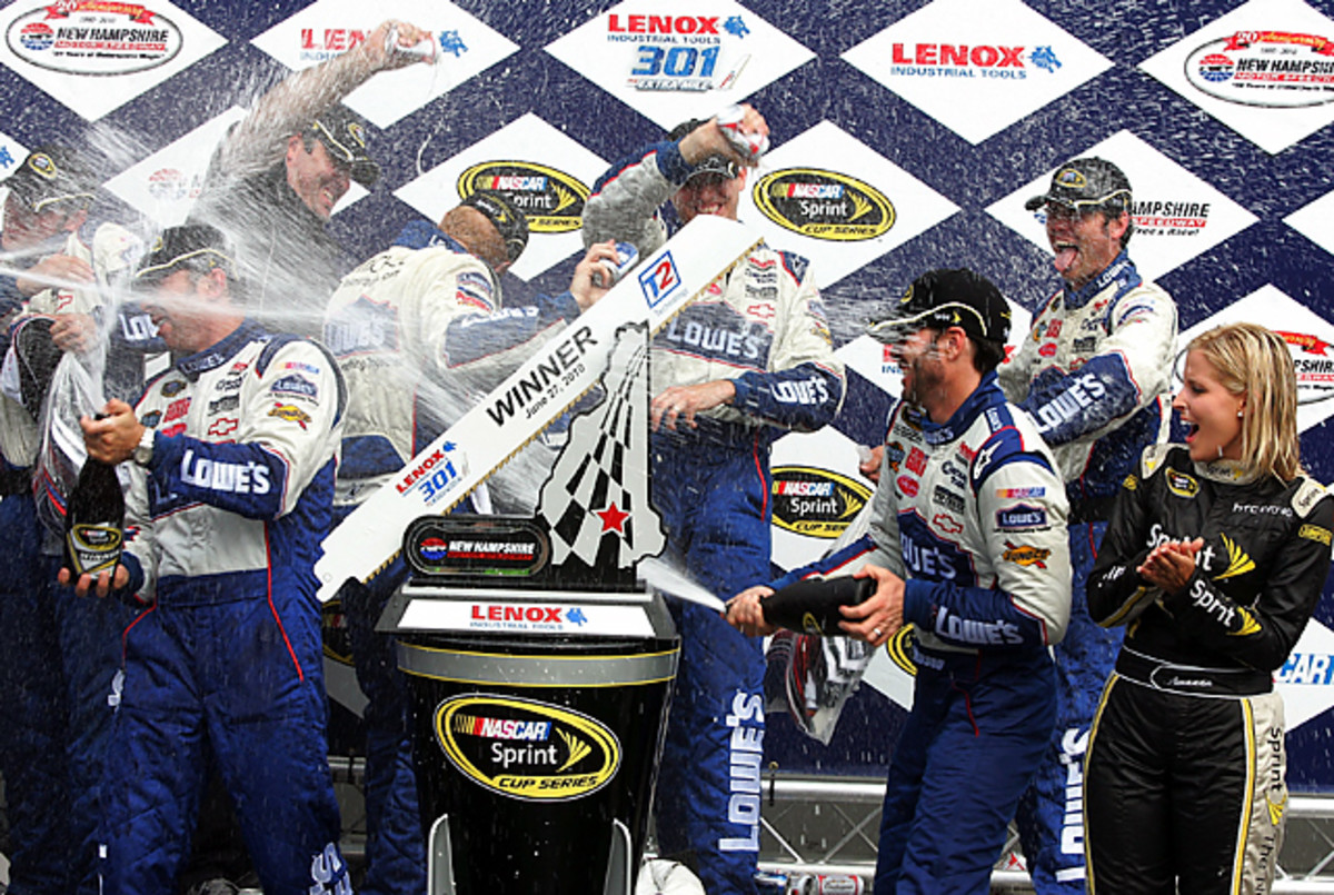 Lenox Industrial Tools 301 At Loudon: Jimmie Johnson
