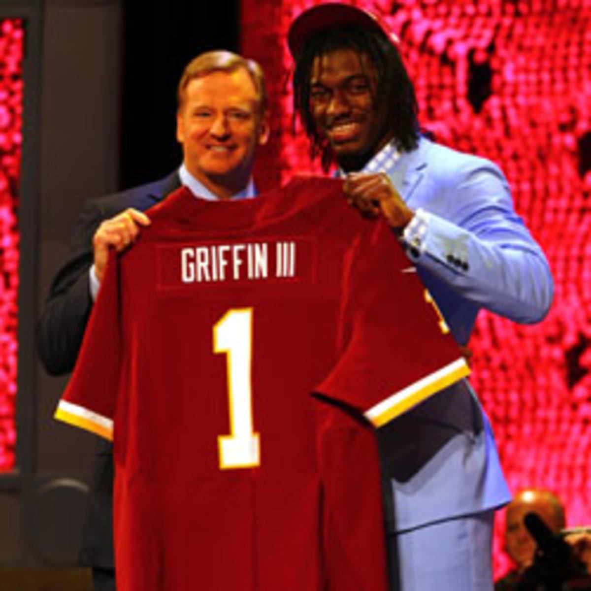 Washington Redskins' Robert Griffin III tops NFL jersey sales in ...