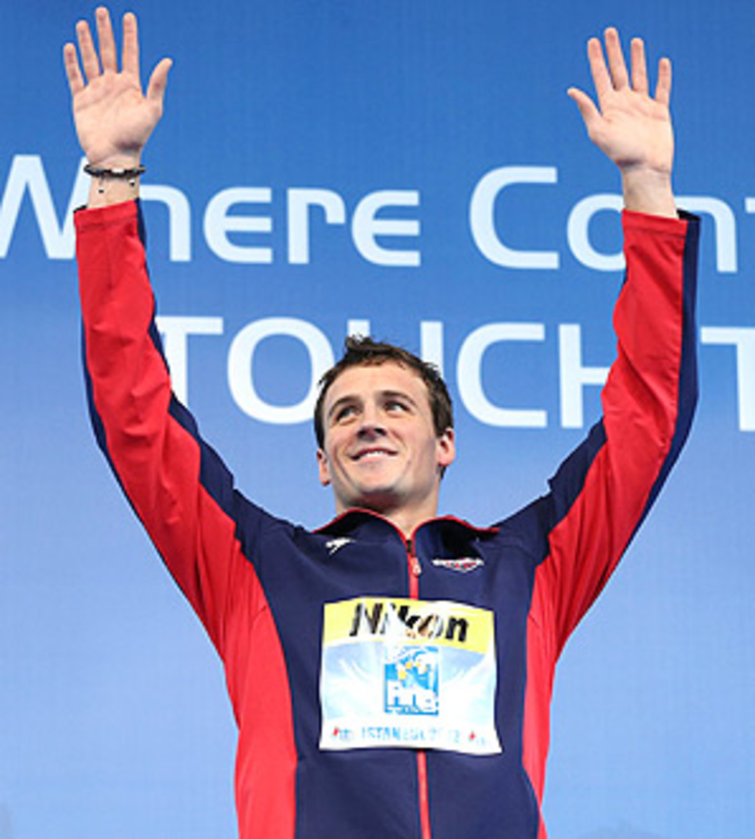 Ryan Lochte broke his world record in the 200m individual medley at the short course world championships.