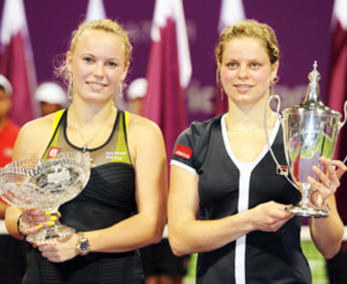 Caroline Wozniacki, Kim Clijsters