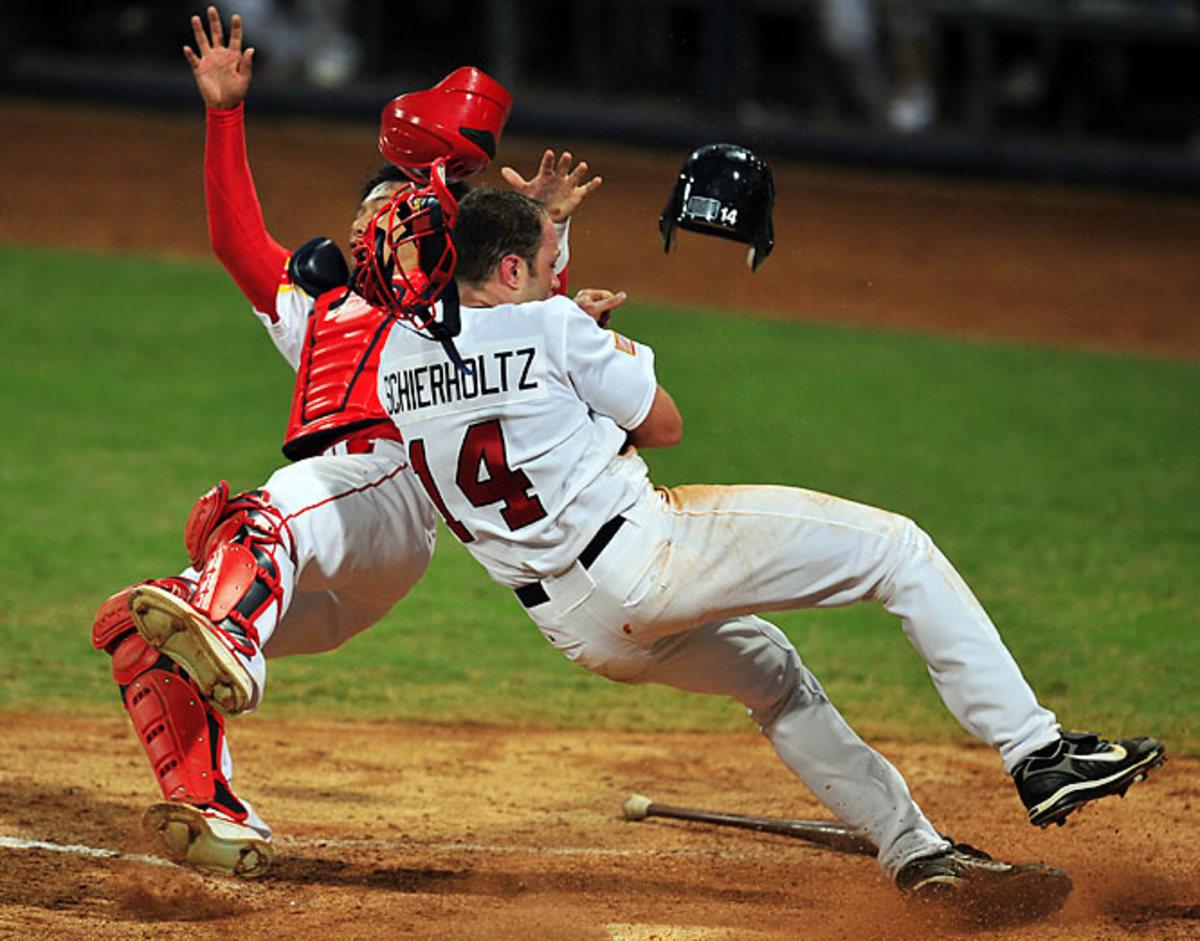 U.S.-China baseball