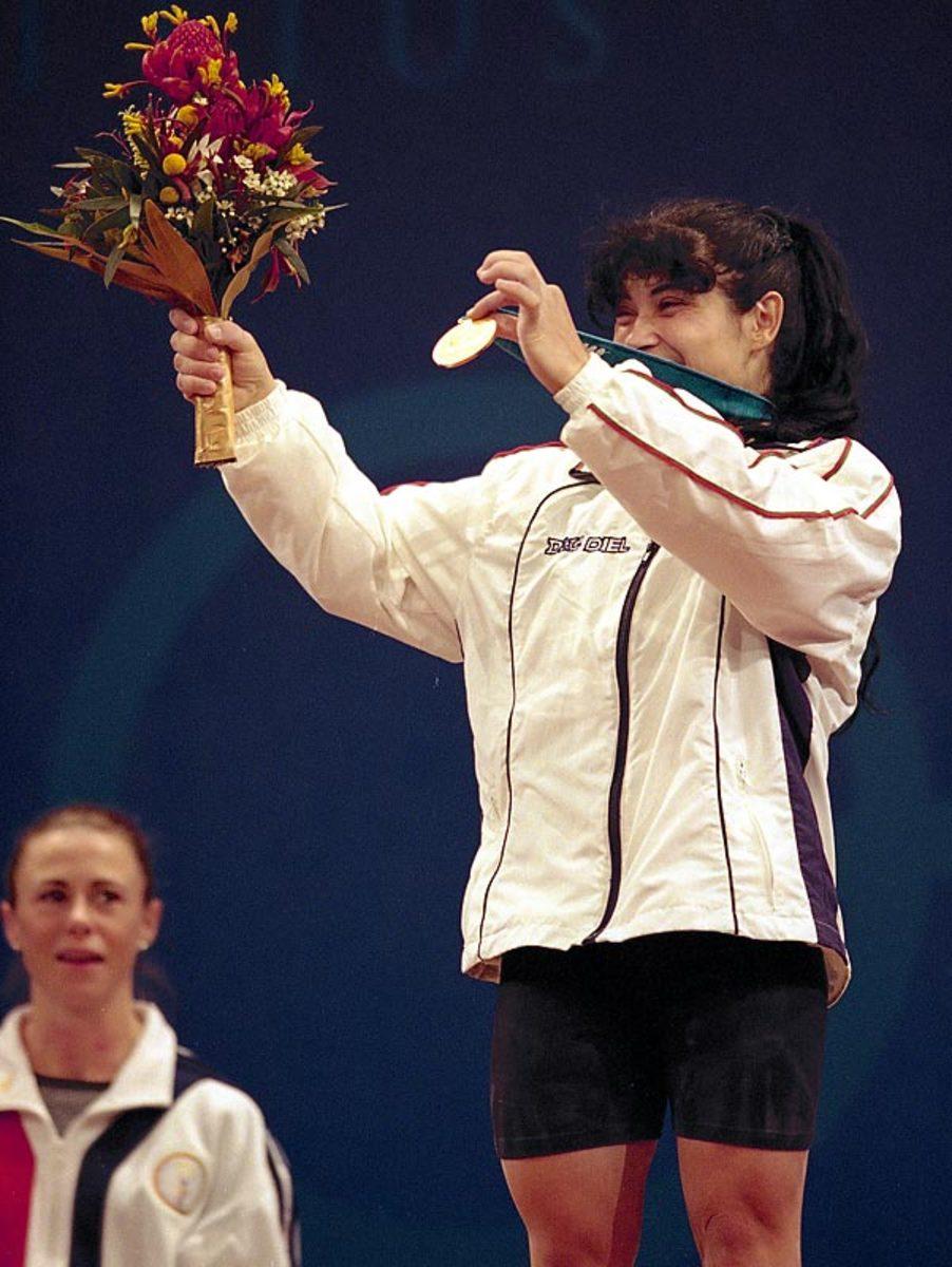 Bulgarian weightlifting team