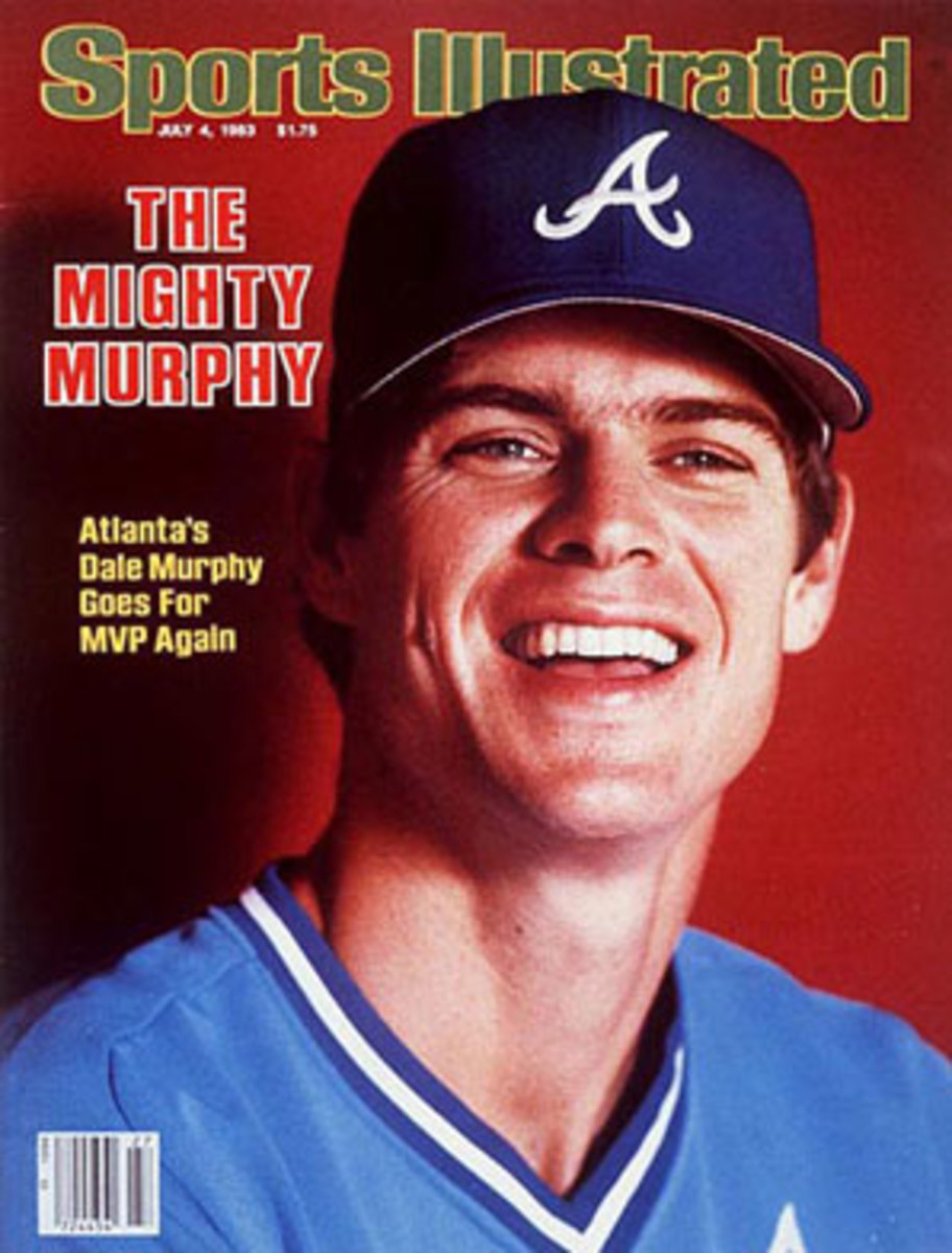 Dale Murphy won back-to-back NL MVPs in 1982 and '83. (Andy Hayt/SI)