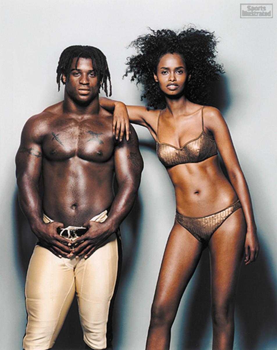 Ricky Williams and Kadra Ahmed-Omar