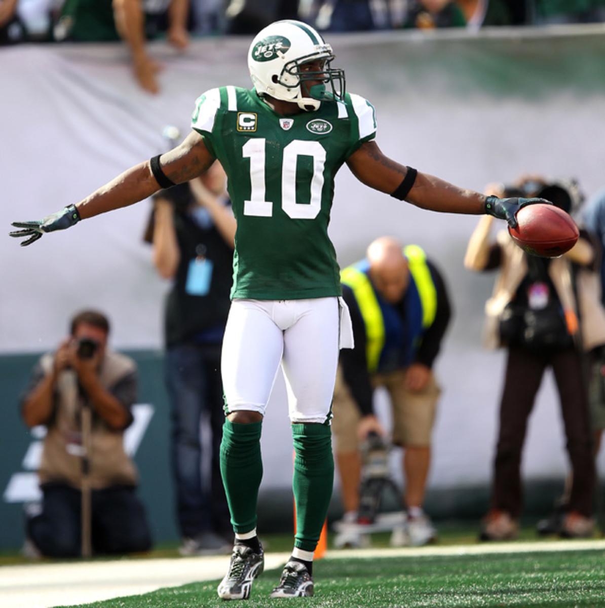 Santonio Holmes, Jets