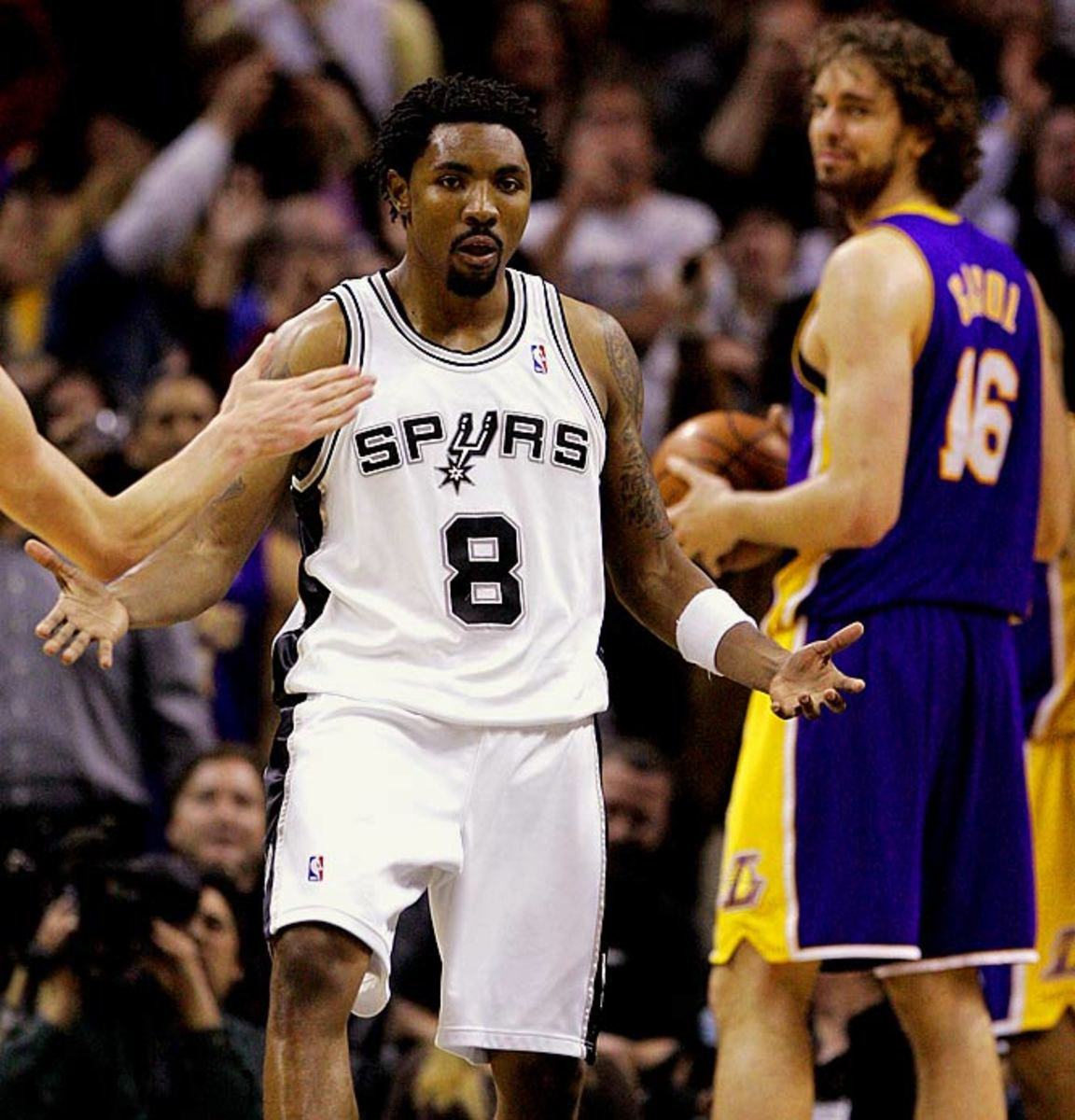Spurs at Lakers