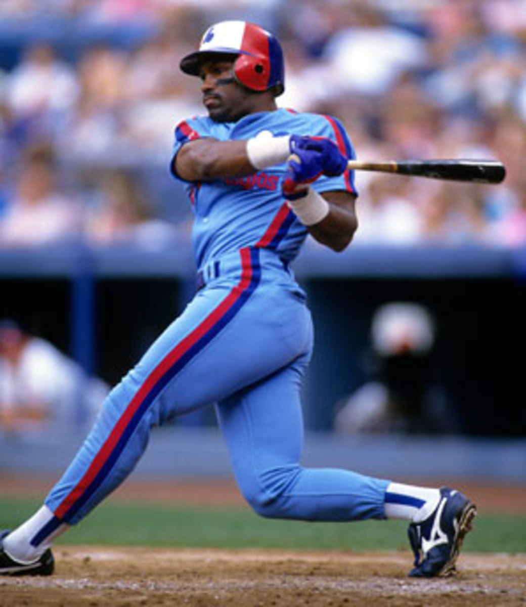 Tim Raines finished with 2,605 hits in 23 MLB seasons. (Tom DiPace)