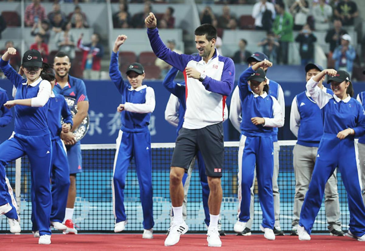 Novak Djokovic Gangnam Style