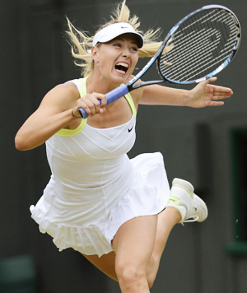 Maria Sharapova Wimbledon 2012