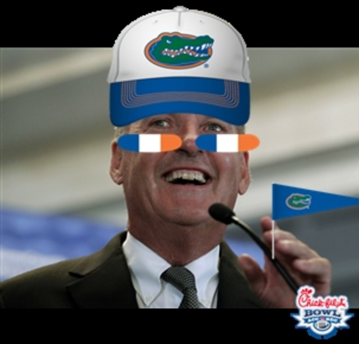 Commissioner Delany, can we get a little Gator Chomp?