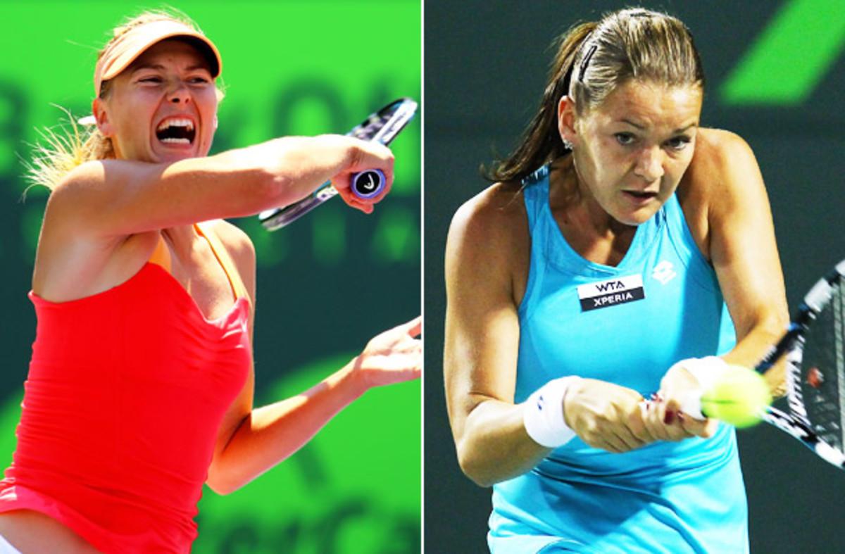 Maria Sharapova, Agnieszka Radwanska, Sony Ericsson Open