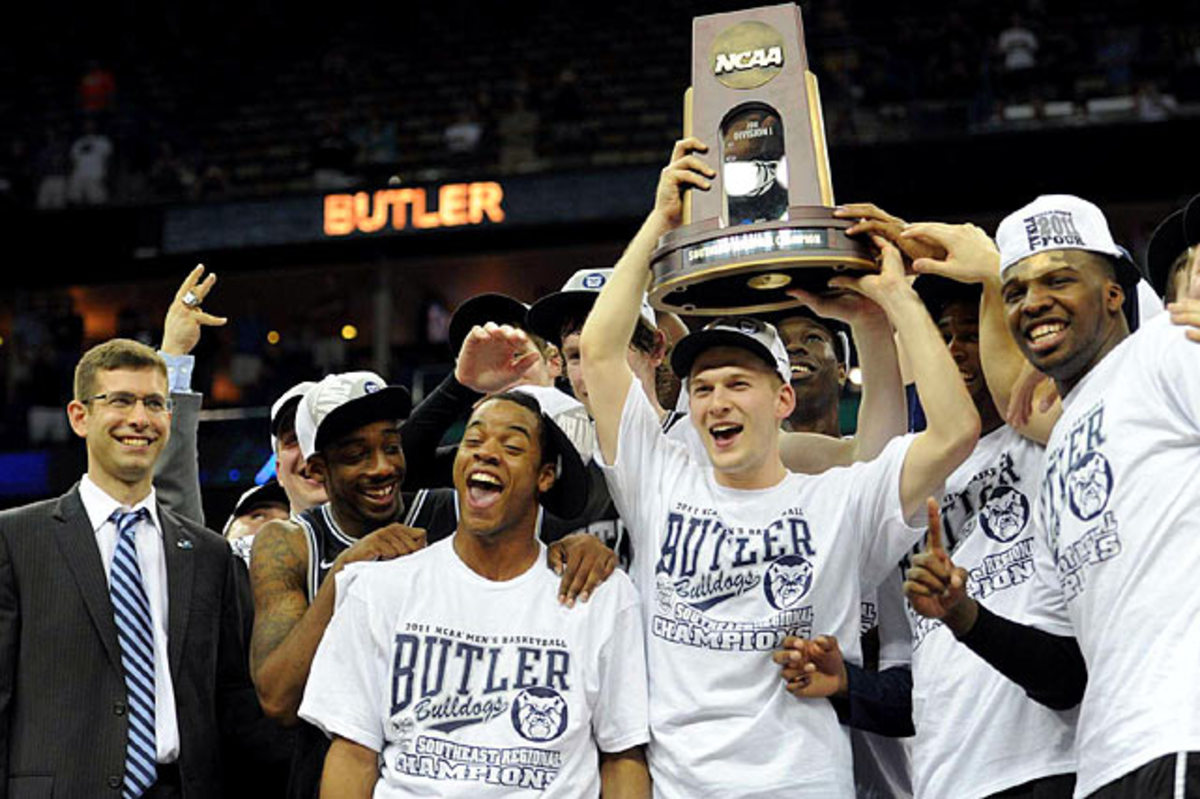 (8) Butler 74, (2) Florida 71 OT