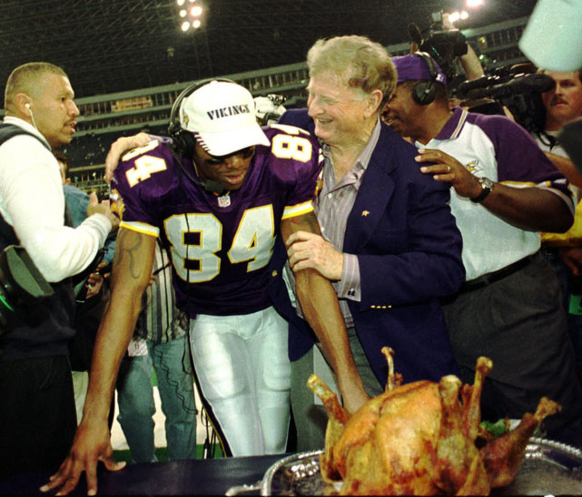 Randy Moss and Red McCoombs