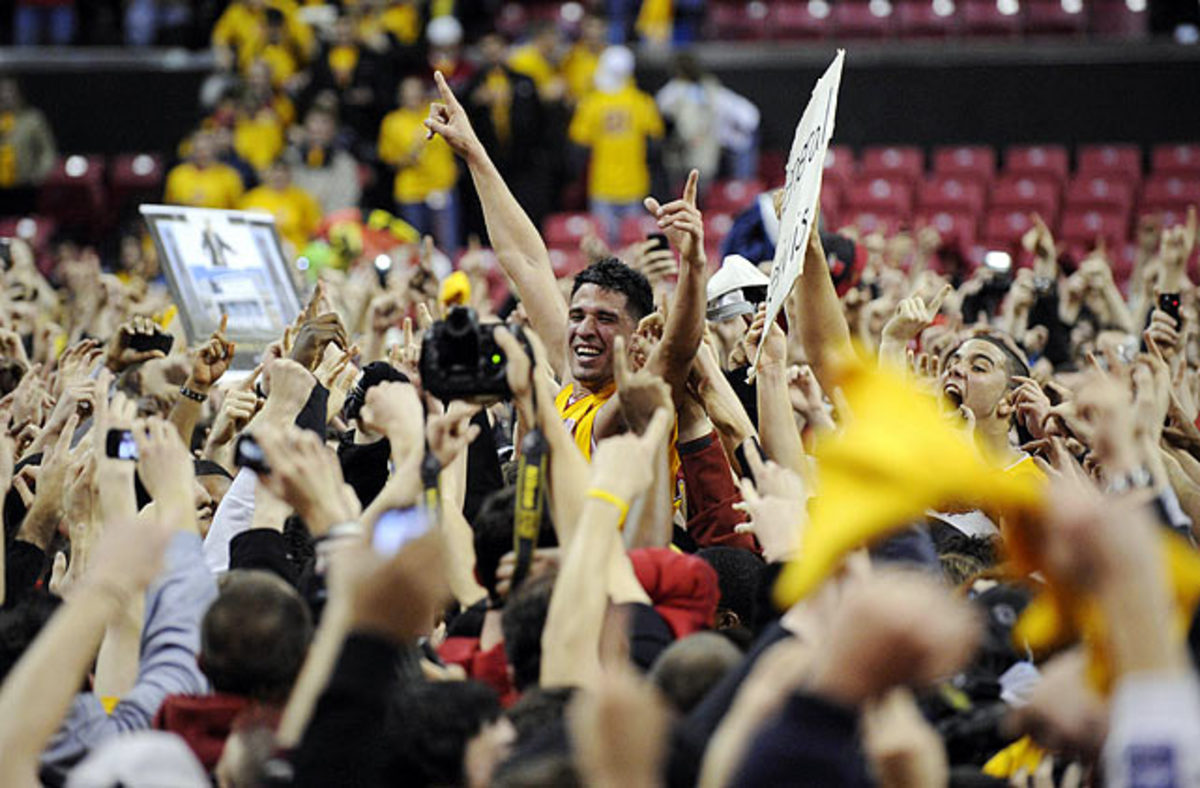 Maryland hoops fans