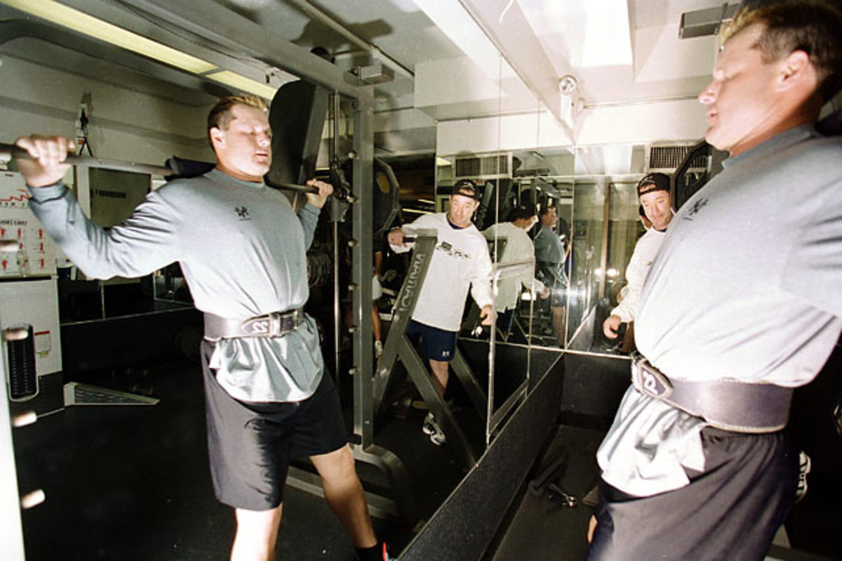 Roger Clemens and Brian McNamee