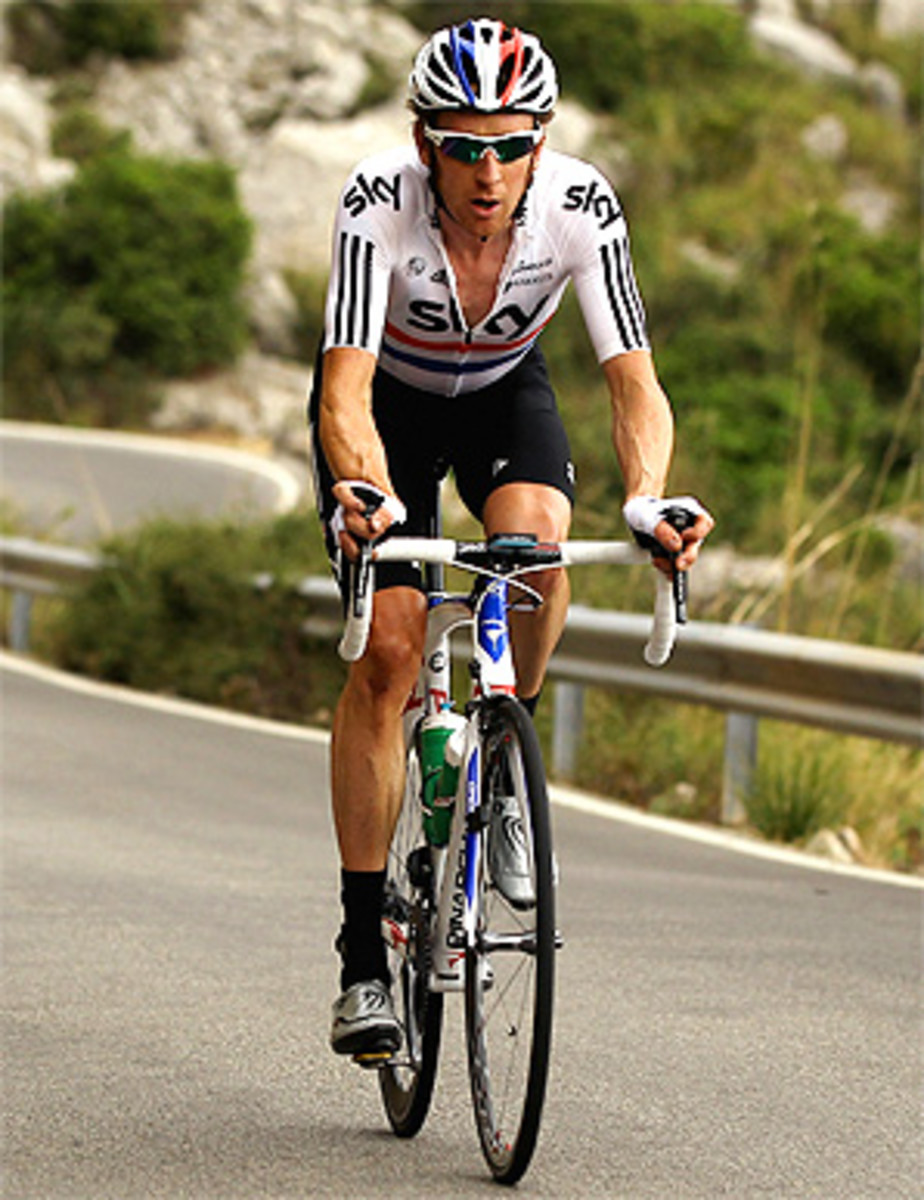 Bradley Wiggins, who won the Tour of Romandie, Paris-Nice and the Criterium du Dauphine this year, is favored to win the 2012 Tour de France.