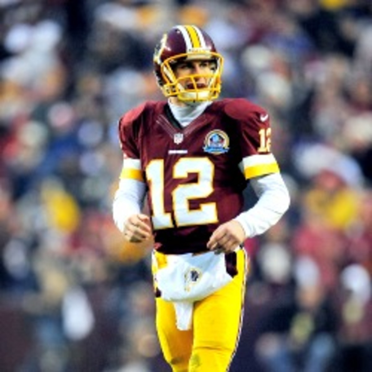 Rookie Kirk Cousins will get his first start against the Cleveland Browns on Sunday. (Patrick McDermott/Getty Images)