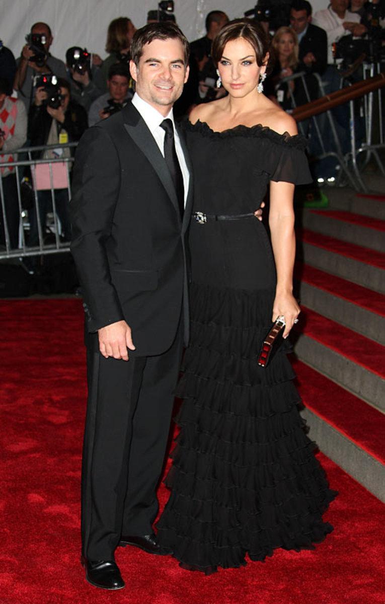 Jeff Gordon and Ingrid Vandenbosch