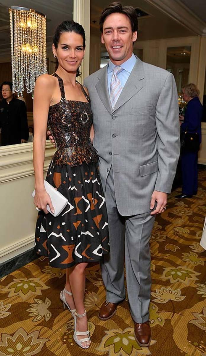Angie Harmon and husband Jason Sehorn