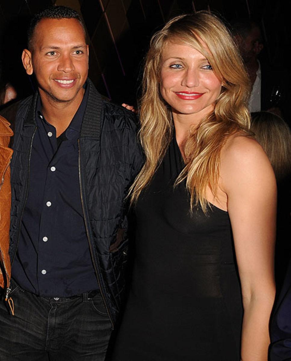 Alex Rodriguez and Actress Cameron Diaz