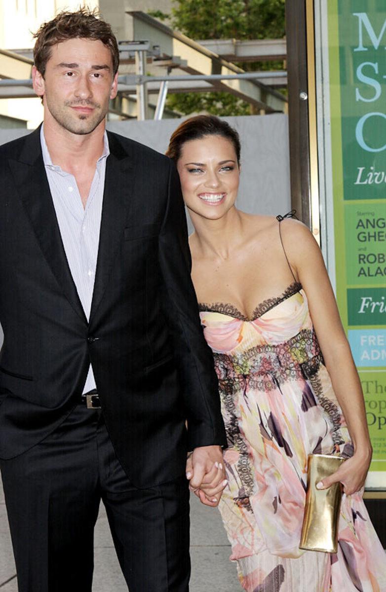 Marco Jaric and Adriana Lima