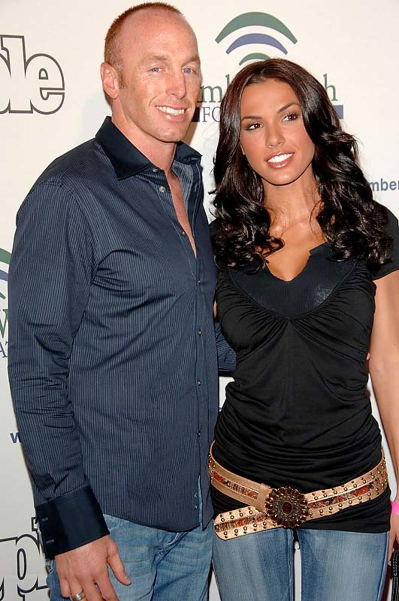 Jeff Garcia and wife Carmella Decesare