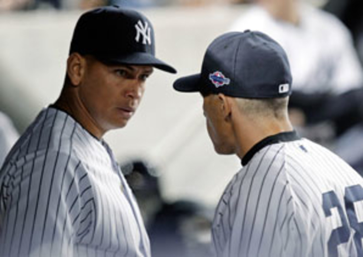 Alex Rodriguez and Joe Girardi