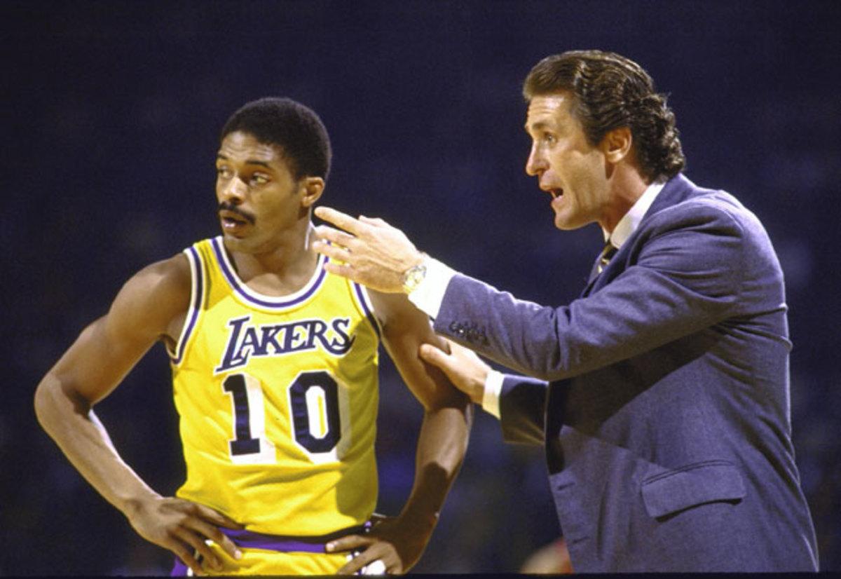 Pat Riley and Norm Nixon