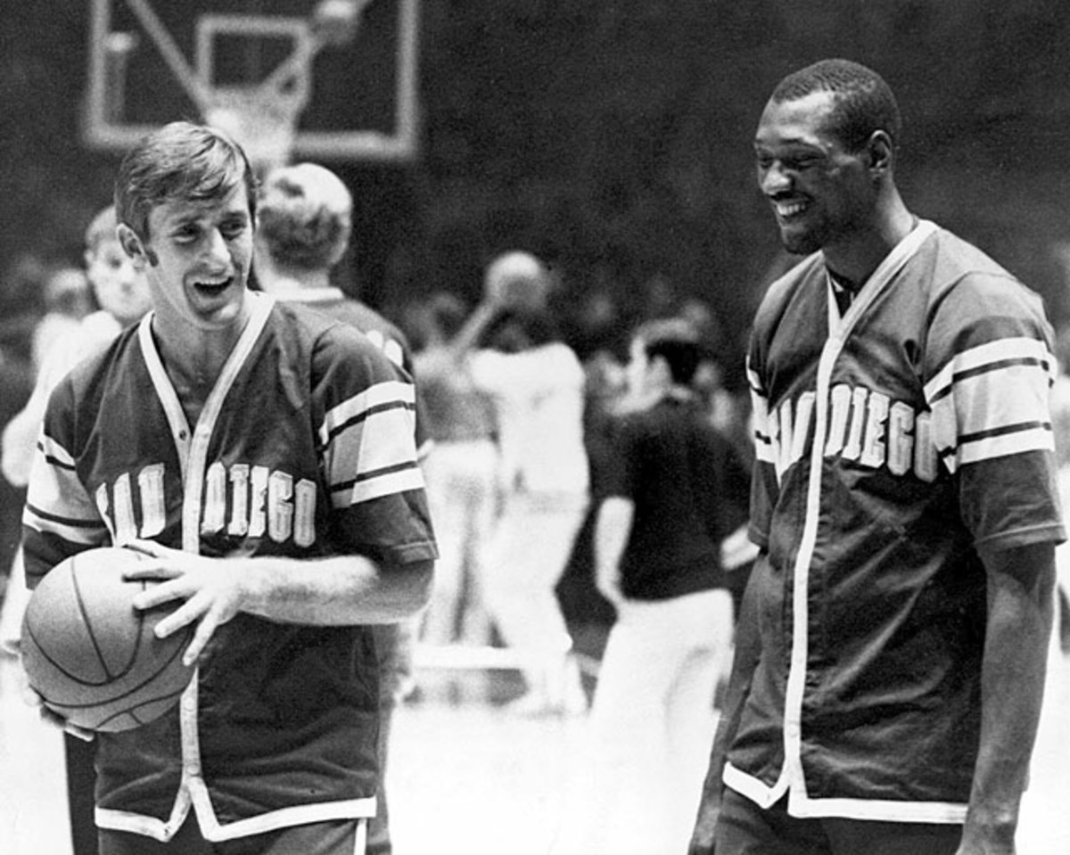 Pat Riley and Elvin Hayes